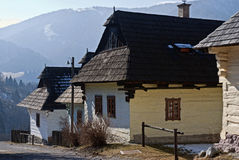 Vlkolinec, Slovakia. Vlkolinec is part of the UNESCO World Heritage since 1993,and one of ten Slovak villages that have a status of a village preserve. It is Royalty Free Stock Photography