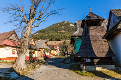 VLKOLINEC, SLOVAKIA Royalty Free Stock Photos