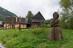 Vlkolinec, Slovakia - UNESCO World Heritage site Stock Photography