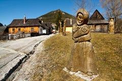 Vlkolinec, Slovaquie Photo stock