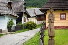 Vlkolinec, Slovaquie - site de patrimoine mondial de l'UNESCO image libre de droits