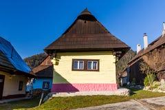 Vlkolinec, Slowakei Lizenzfreie Stockfotos