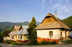 Vlkolinec, Slowakije Stock Afbeelding