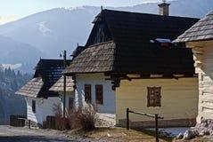 Vlkolinec, Slowakije royalty-vrije stock fotografie