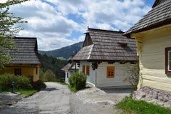 Vlkolinec, UNESCO em Eslováquia Foto de Stock Royalty Free