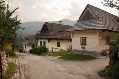 Vlkolinec - UNESCO Heritage Royalty Free Stock Photos