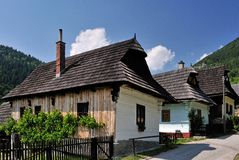 Vlkolinec - UNESCO Village Royalty Free Stock Image
