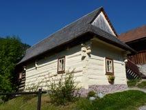 Vlkolinec. Vecchio cottage Fotografie Stock Libere da Diritti