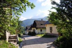 Vlkolinec - village de l'UNESCO images libres de droits