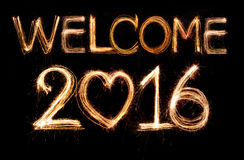 Välkomnande 2016 Arkivfoton