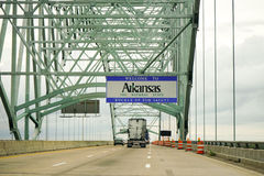 Välkomnande till Arkansas Arkivbilder