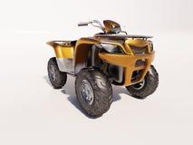 Vélo de quadruple d'Atv Image stock