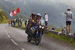 Vélo officiel pendant l'excursion de la France Image libre de droits