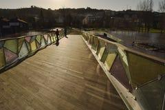 Vloed in Coimbra Portugal Royalty-vrije Stock Afbeeldingen