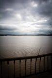 Vloed - een natuurverschijnsel Gemorst meer Royalty-vrije Stock Afbeeldingen