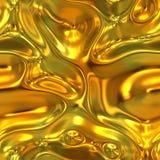 Vloeibaar goud stock illustratie