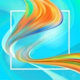 Vloeibaar kleurenontwerp als achtergrond De vloeibare gradiënt geeft samenstelling gestalte Ontwerpaffiches Vector illustratie vector illustratie