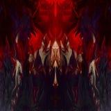 Vloeibare abstracte achtergrond - in het bovenste gedeelte van het beeld s vector illustratie