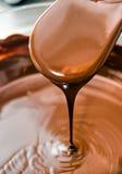 Vloeibare Chocolade. stock afbeeldingen