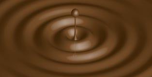 Vloeibare chocolade - Stock Foto's