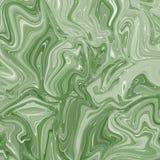 Vloeibare de textuurachtergrond van de marmeringsverf Vloeistof die abstracte textuur, het Intensieve behang van de kleurenmengel vector illustratie