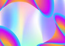 Vloeibare dynamische achtergrond met vloeibare vormen en elementen stock illustratie