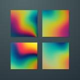 Vloeibare iriserende multicolored achtergrond vector illustratie