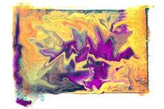 Vloeibare kleuren Royalty-vrije Stock Foto's