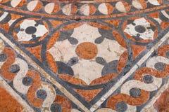 Vloer in chiesa Di Sant Anastasia in de stad van Verona Royalty-vrije Stock Foto's