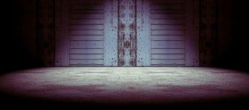 Vloer en muurachtergrond Royalty-vrije Stock Foto's