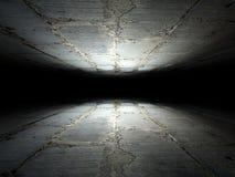Vloer en plafond van bakstenen achtergrondtextuur wordt gemaakt die Royalty-vrije Stock Foto's