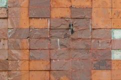 Vloer, muurbeeldhouwwerk, achtergrond en textuur Royalty-vrije Stock Afbeeldingen