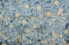 Vloer, muurbeeldhouwwerk, achtergrond en textuur Stock Foto's