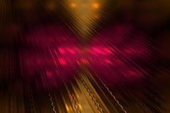 Vloer 2 van de Technodans. abstracte achtergrond. Stock Foto