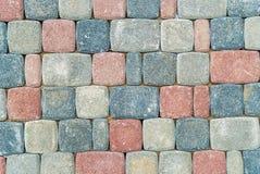 Vloer van een vetny steen stock foto's