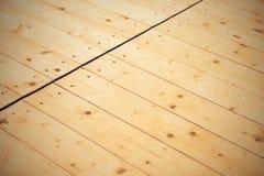 Vloer van houten raad Stock Foto's