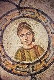 Vloerdetail van basiliek in Aquileia stock afbeeldingen