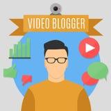 Vlogger Immagini Stock Libere da Diritti