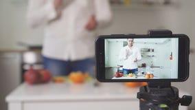 Vloggingsconcept stock video