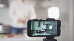Vloggingsconcept stock footage