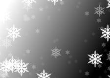 Vlokken van sneeuw Royalty-vrije Stock Foto