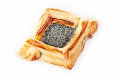 Vlokkige croissant Royalty-vrije Stock Foto's