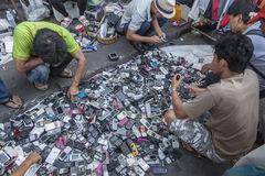 Vlooienmarkt in Bangkok Royalty-vrije Stock Foto's