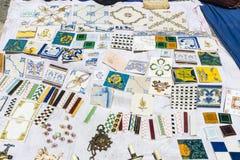 Vlooienmarkt, Feira DA Ladra, Lissabon royalty-vrije stock afbeeldingen