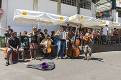 Vlooienmarkt, Feira DA Ladra, Lissabon Royalty-vrije Stock Foto's