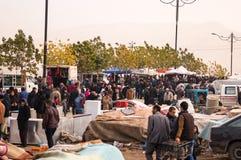 Vlooienmarkt in Irak stock foto's