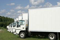 Vloot van Vrachtwagens Royalty-vrije Stock Fotografie