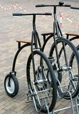 Vélos démodés Photos stock