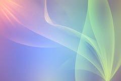 Vlotte Abstracte Achtergrond stock illustratie