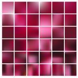 Vlotte abstracte kleurrijke geplaatste achtergronden - eps10 Stock Afbeeldingen